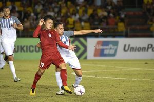 Đội hình Việt Nam vs Philippines: Quang Hải đá tiền đạo