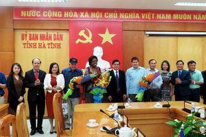 Đoàn Hội Nhà báo Cuba thăm, làm việc tại Hà Tĩnh