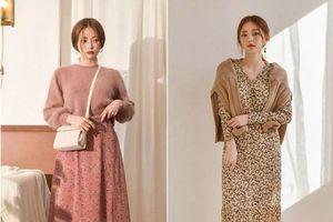 Những mẫu váy thiết kế đơn giản nhưng cực sang chảnh phù hợp thời tiết Đông