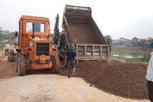 Nghi Lộc bảo vệ thi công dự án đường giao thông nối Vinh - Cửa Lò