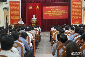 Đảng ủy Khối Doanh nghiệp: Quán triệt trách nhiệm nêu gương của cán bộ, đảng viên