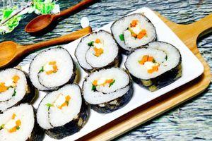 Cách làm sushi chay thanh tịnh cho ngày đầu tháng
