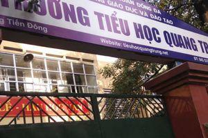 Học sinh trường Quang Trung bị bạn tát: Cô giáo phủ nhận việc 'chỉ đạo'