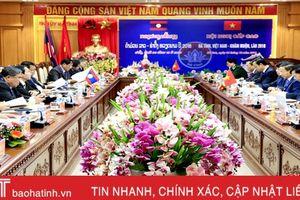 Hội nghị cấp cao Hà Tĩnh - Khăm Muộn thành công tốt đẹp