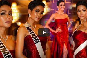 H'Hen Niê nổi bật khi trình diễn dạ hội tại Miss Universe và báo chí Thái Lan