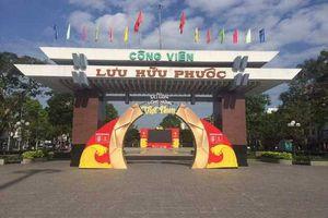 Cần Thơ cho đặt màn hình lớn xem trận Việt Nam-Philippines tại công viên Lưu Hữu Phước