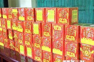 Nghệ An: Bắt giữ đối tượng vận chuyển trái phép gần 500kg pháo
