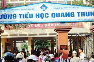 Vụ tát học sinh ở trường Quang Trung: Phụ huynh chấp nhận lời xin lỗi của giáo viên