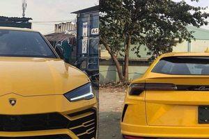 Siêu xe đắt giá Lamborghini Urus màu vàng 'nổi bần bật' về Hải Phòng