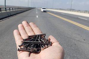 Rải đinh triệt hạ lốp xe: Bao giờ mới chấm dứt hành động tàn độc?