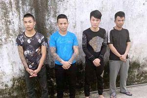 Thanh Hóa: Triệt phá ổ nhóm chuyên bắt các cô gái trẻ phục vụ khách hát karaoke