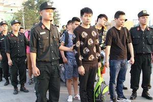 Bắt giữ nhóm đối tượng Trung Quốc sang Việt Nam lừa đảo