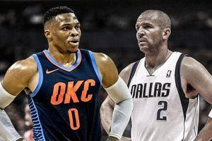 'Thánh Triple-double' Westbrook tiếp tục vượt mặt bậc tiền bối