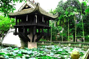 Chùa Một Cột- kiến trúc văn hóa độc đáo giữa lòng thủ đô