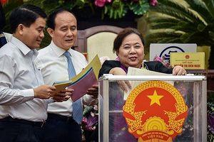 Hà Nội: Chủ tịch HĐND dẫn đầu 'tín nhiệm cao', Giám đốc Sở NN&PTNT dẫn đầu 'tín nhiệm thấp'