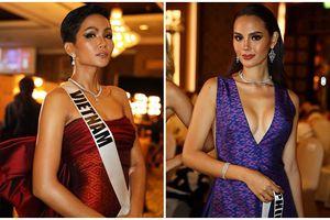 Dàn thí sinh Miss Universe 2018 cực nổi bật tại ThaiNight, H'Hen Niê cũng lot vào top ấn tượng