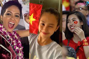 Hàng loạt sao Việt vỡ òa cảm xúc khi cuối cùng sau 10 năm Việt Nam cũng đã vào chung kết AFF Cup