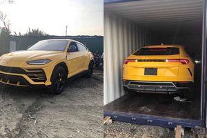 Siêu SUV Lamborghini Urus thứ 3 về Việt Nam với màu vàng đặc trưng