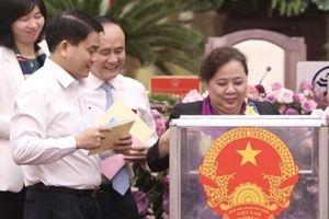 Kết quả lấy phiếu tín nhiệm đối với 36 lãnh đạo chủ chốt Hà Nội