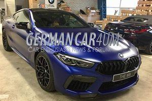Hé lộ những hình ảnh đầu tiên của chiếc BMW M8 Competition