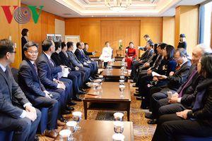 Chủ tịch Quốc hội tiếp Đại diện dòng họ Lý Hoa Sơn tại Hàn Quốc