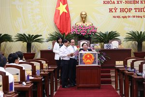 Kết quả lấy phiếu tín nhiệm 36 chức danh do HĐND TP Hà Nội bầu