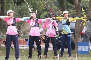 Hà Nội giành cú đúp Huy chương Vàng bộ môn bắn Cung