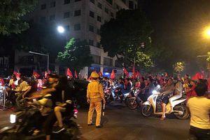 Hà Nội bình yên trong đêm ăn mừng chiến thắng của đội tuyển Việt Nam