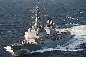 Tàu khu trục Mỹ đi vào vùng biển Nga tuyên bố chủ quyền, 'thách thức' Matxcơva