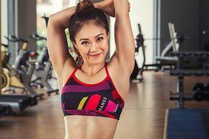 7 bài tập giảm mỡ toàn thân của HLV xinh đẹp
