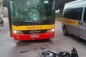 Chạy ngược chiều đâm trực diện xe buýt, nam thanh niên tử vong