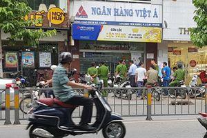 Vụ cướp tại ngân hàng Việt Á ở Sài Gòn diễn ra trong 3 phút