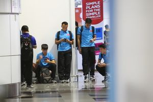 Tuyển Việt Nam được ưu tiên ở sân bay tại Malaysia