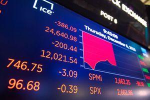 Chứng khoán Mỹ giảm điểm do lo ngại căng thẳng thương mại Mỹ - Trung