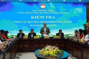 MTTQ TP Hà Nội góp phần hạn chế phát sinh điểm nóng