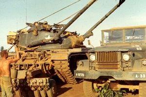 Xe công binh mang pháo...165mm cực lạ chiến bại tại Việt Nam