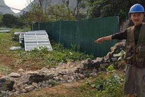 Ninh Bình: Người dân dựng lều, đốt đuốc phản đối xây đài hóa thân