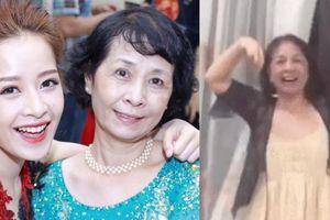 VN vào chung kết AFF Cup: Mẹ Chi Pu nhảy múa ăn mừng khiến con gái choáng