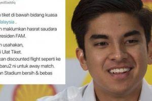 AFF Cup 2018: Trận Việt Nam-Malaysia, Bộ trưởng soái ca hứa 3 điều