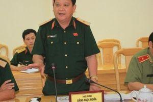 Thiếu tướng Đặng Ngọc Nghĩa bị kỷ luật