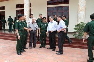Trung tướng Nguyễn Hùng Phong trong lòng quân dân Việt Bắc
