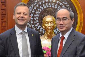 Đẩy mạnh hợp tác giữa TPHCM và TP Leipzig, Đức