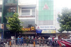 Ngân hàng Việt Á xác nhận vụ cướp ở phòng giao dịch Bà Chiểu