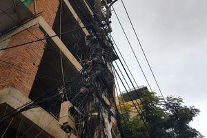 Cháy nổ hệ thống điện tại công trình xây dựng