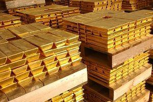 Giá vàng liên tiếp giảm, xuống đáy 1 tháng