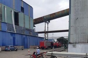 Nhà máy thép phát nổ, gần chục người bị thương