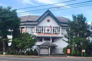 Trụ sở UBND TP Kon Tum bị trộm đột nhập, đục két sắt lấy tiền