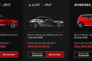 Ô tô VinFast giá hơn 300 triệu: Người Việt có thể đặt mua online nhanh chóng
