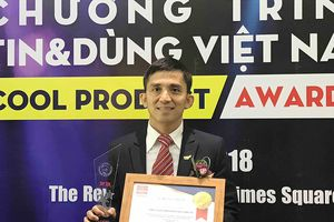TH true MILK nhận giải thưởng 'Tin và Dùng Việt Nam' 2018 cho 'Thương hiệu có tâm'