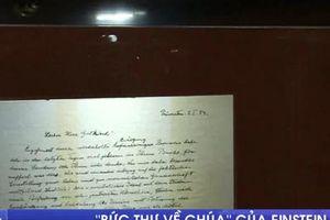 Bức thư về Chúa của Einstein được bán với giá gần 3 triệu USD
